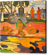 Mahana No Atua Aka. Day Of The Gods Acrylic Print