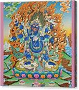 Mahankal Thangka Art Acrylic Print