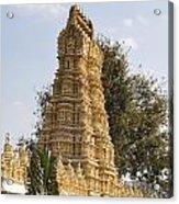 Maharaja's Palace India Mysore Acrylic Print