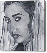 Mahira Khan Acrylic Print