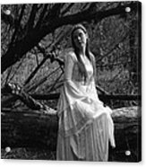 Maiden In The Forest Acrylic Print