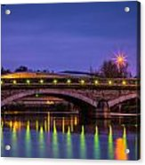 Maidstone Bridge Acrylic Print
