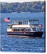 Mail Delivery Boat Lake Geneva Wisconsin Acrylic Print