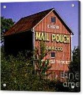 Mail Pouch Barn-0702 Acrylic Print