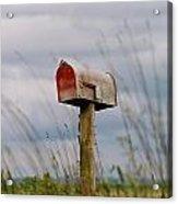 Mailbox Acrylic Print