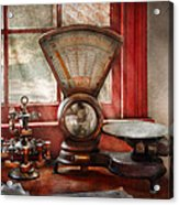 Mailman - The Mail Scale  Acrylic Print by Mike Savad