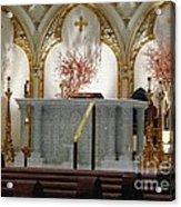 Main Altar Saint Jospehs Cathedral Buffalo New York Acrylic Print