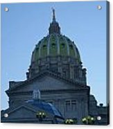 Main Dome Of The State Capital Acrylic Print