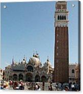 Main Square In Venice Acrylic Print