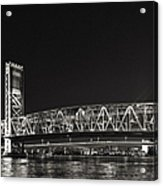 Main Street Bridge Jacksonville Florida Acrylic Print by Christine Till