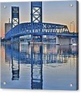 Main Street Bridge Jacksonville Florida Acrylic Print