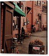 Main Street Acrylic Print