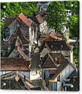 Main Street Rocamadour Acrylic Print