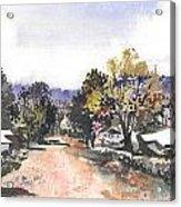 Main Street Ukarumpa Acrylic Print