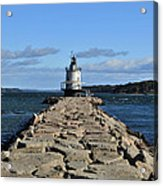 maine 43 Portland Lighthouse Acrylic Print