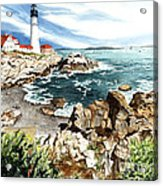 Maine Attraction Acrylic Print