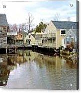 Maine Backwater Acrylic Print