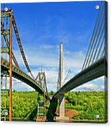 Maine Bridges Acrylic Print