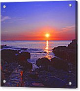 Maine Coast Sunrise Acrylic Print
