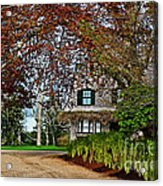 Maine Cottage In Spring Acrylic Print
