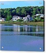 Maine Lakefront Acrylic Print