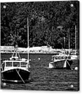 Maine Lobster Boats Acrylic Print