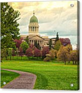 Maine State Capitol Building Acrylic Print