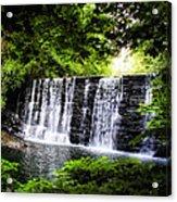 Mainline Waterfall Acrylic Print