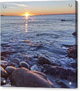 Mainly Water Acrylic Print by Jon Glaser