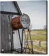 Barn - Maintenance Acrylic Print