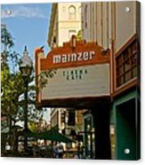 Mainzer Theater Acrylic Print