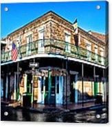 Maison Bourbon - New Orleans Acrylic Print