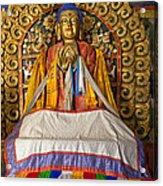 Maitreya Buddha Erdene Zuu Monastery Acrylic Print