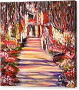 Majestic Garden Acrylic Print