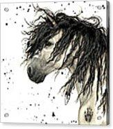 Majestic Grey Spirit Horse #44 Acrylic Print