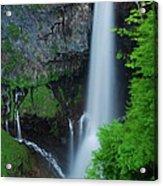 Majestic Kegon Falls Acrylic Print