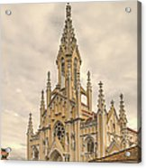 Ubate Cathedral Acrylic Print