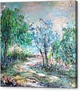 Majestic Acrylic Print by Mary Spyridon Thompson
