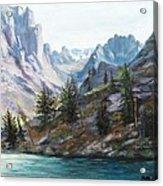 Majestic Montana Acrylic Print