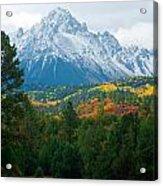 Majestic Mt. Sneffels Acrylic Print by John Hoffman