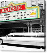 Majestic Night At The Show Acrylic Print