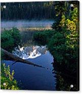 Majestic Reflection Acrylic Print by Inge Johnsson