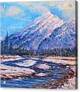 Majestic Rise - Impressionism Acrylic Print by Joseph   Ruff