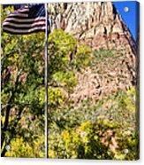 Majestic Sight - Zion National Park Acrylic Print