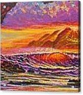 Majestic Purple Sunset  Acrylic Print