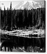 Majestic View 2bw Acrylic Print