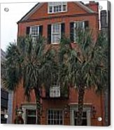 Major Peter Bocquet House Charleston South Carolina Acrylic Print