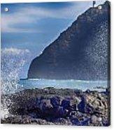 Makapuu Point Lighthouse- Oahu Hawaii V2 Acrylic Print