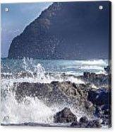 Makapuu Point Lighthouse- Oahu Hawaii V3 Acrylic Print