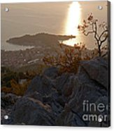 Makarska - Evening Light Acrylic Print